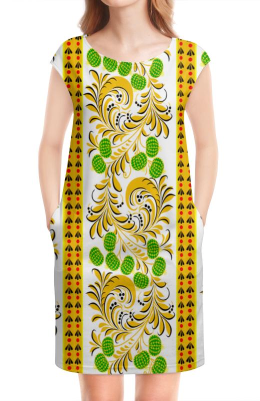 Платье без рукавов Printio Белорусский декор. белорусский лен комплект столовый франческа
