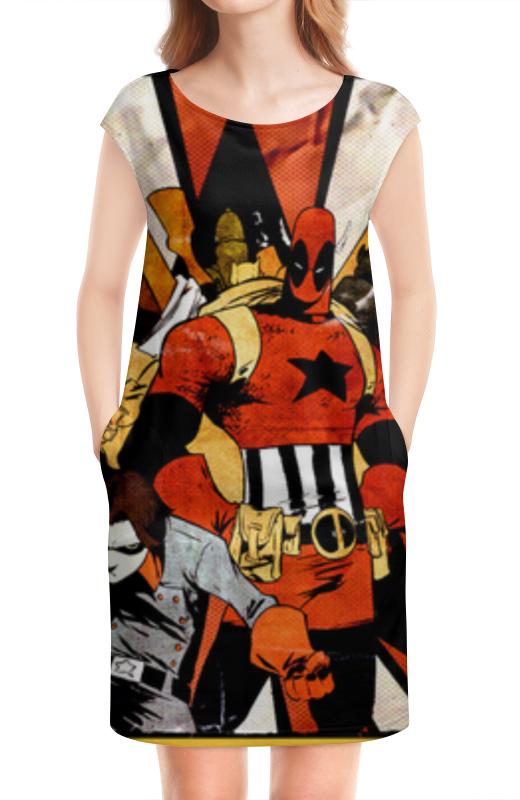 Платье без рукавов Printio Дэдпул (deadpool)
