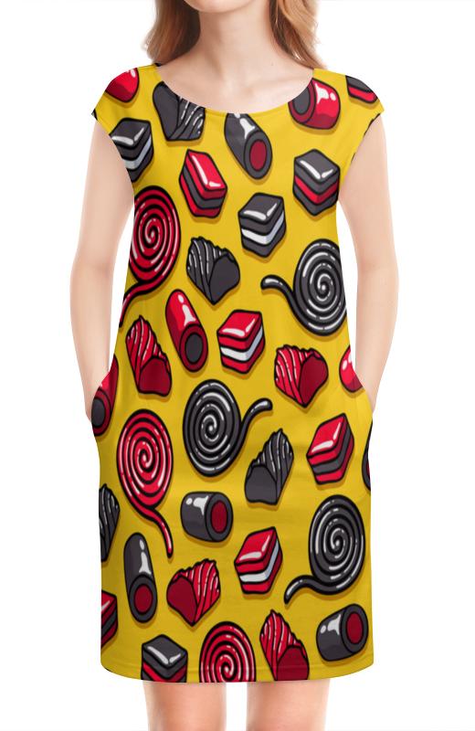 Платье без рукавов Printio Конфетки