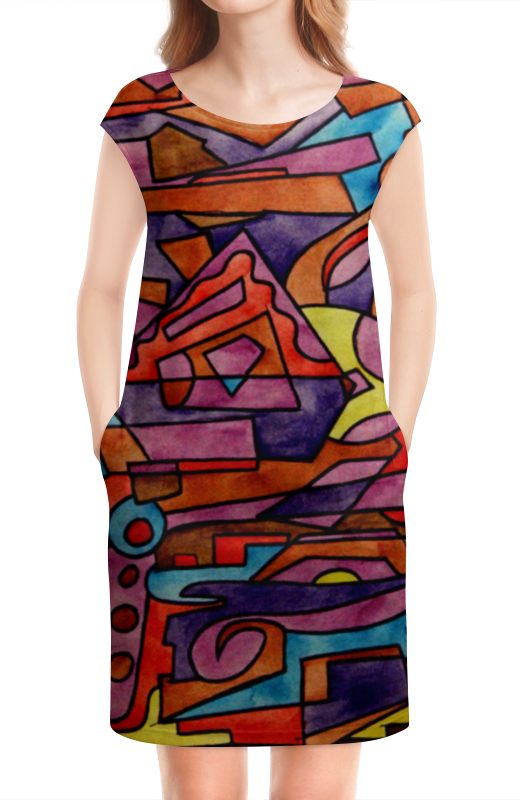 Платье без рукавов Printio Dz,p9////o`fv цена