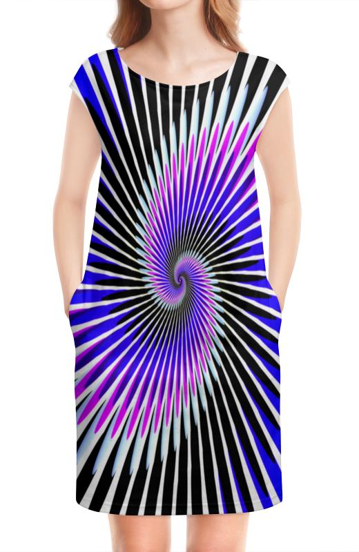 цены на Платье без рукавов Printio Абстракция линий в интернет-магазинах