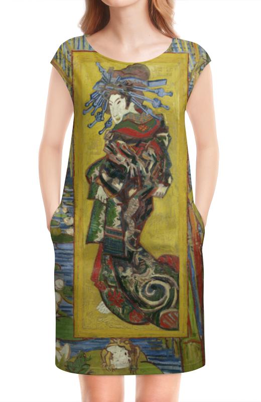Платье без рукавов Printio Куртизанка (винсент ван гог) лэндон дж скандальная куртизанка