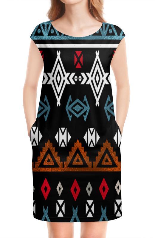 Платье без рукавов Printio Графический орнамент графический дизайн