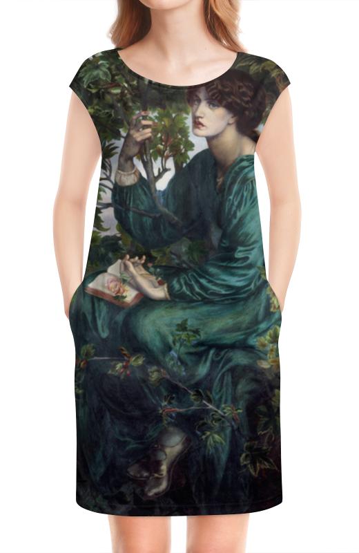Платье без рукавов Printio Сон наяву (данте габриэль россетти) светлана дарькина сон наяву