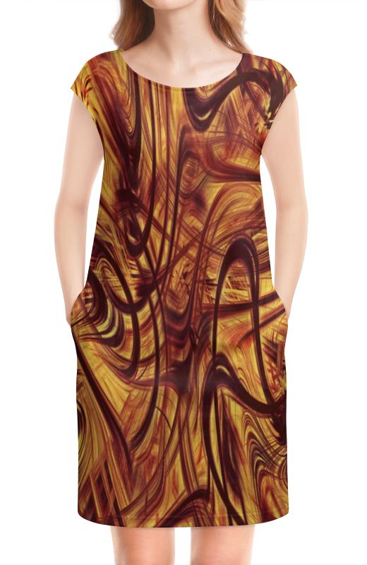 цены на Платье без рукавов Printio Узор линий в интернет-магазинах