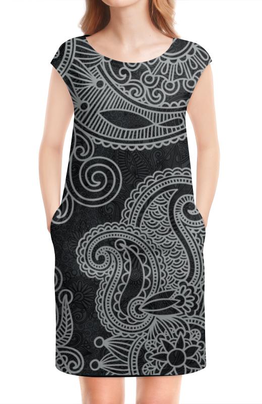 Платье без рукавов Printio Абстрактный узор платье без рукавов printio абстрактный узор