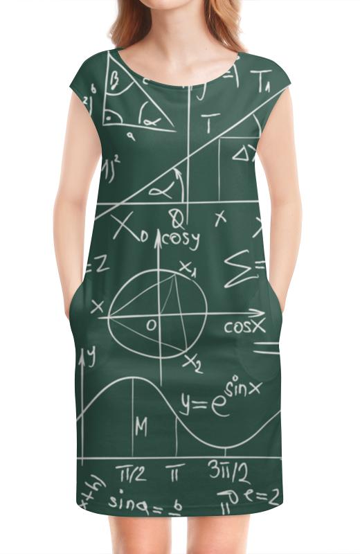 Платье без рукавов Printio Математика математика