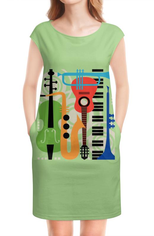 Платье без рукавов Printio Музыкальные инструменты электронная версия для xbox и pc microsoft recore definitive edition