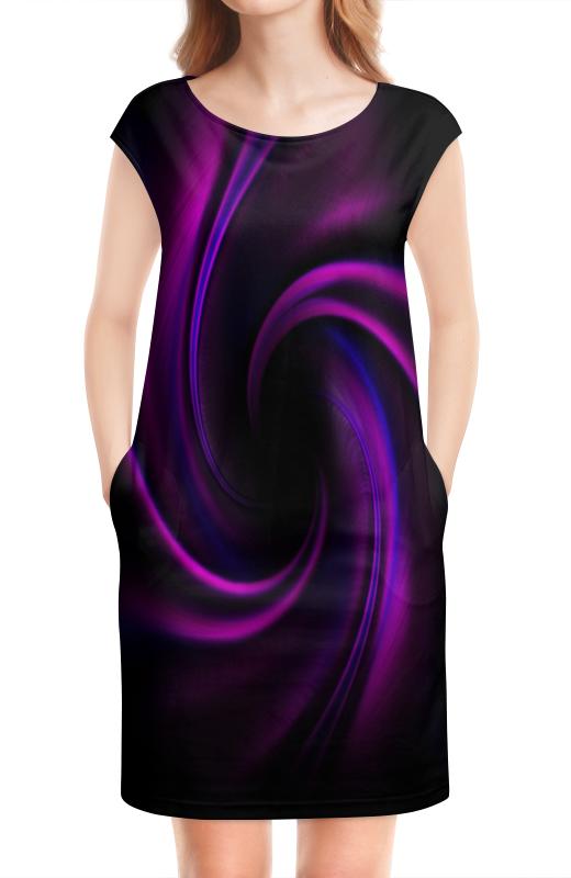 Платье без рукавов Printio Абстрактный фиолетовый платье без рукавов printio абстрактный узор