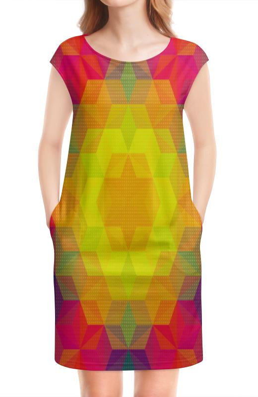 Платье без рукавов Printio Графический узор графический дизайн