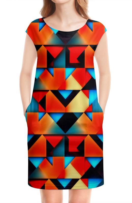 Платье без рукавов Printio Геометрические фигуры геометрические фигуры из гипса в донецке