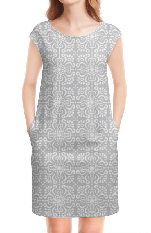 Платье без рукавов Printio Элегантное элегантное черное платье где