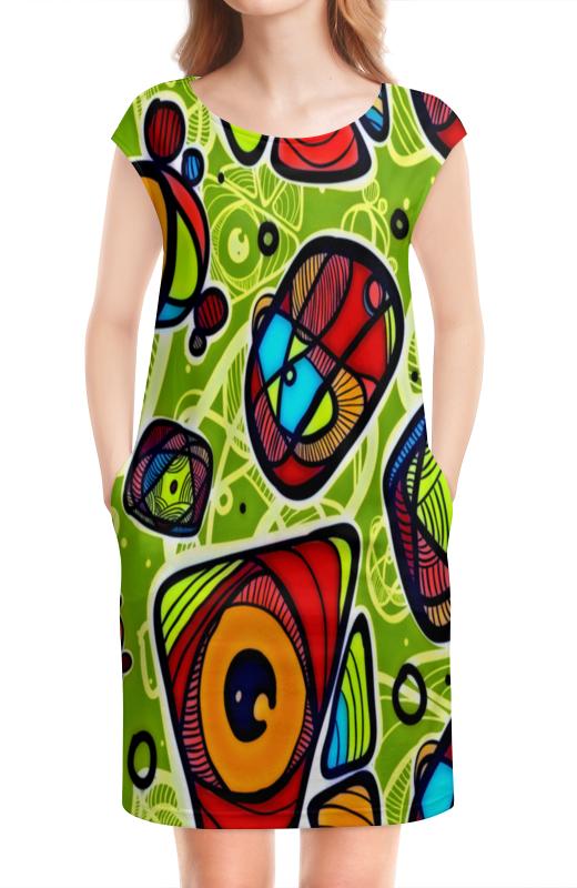 Платье без рукавов Printio Минимализм