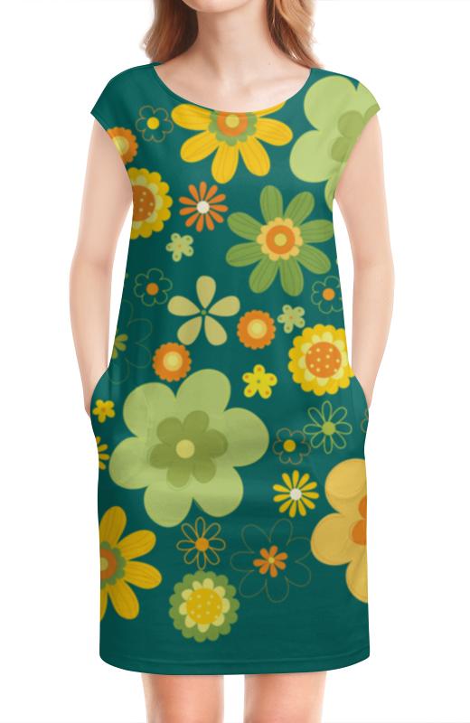 Платье без рукавов Printio Хиппи платье хиппи 46