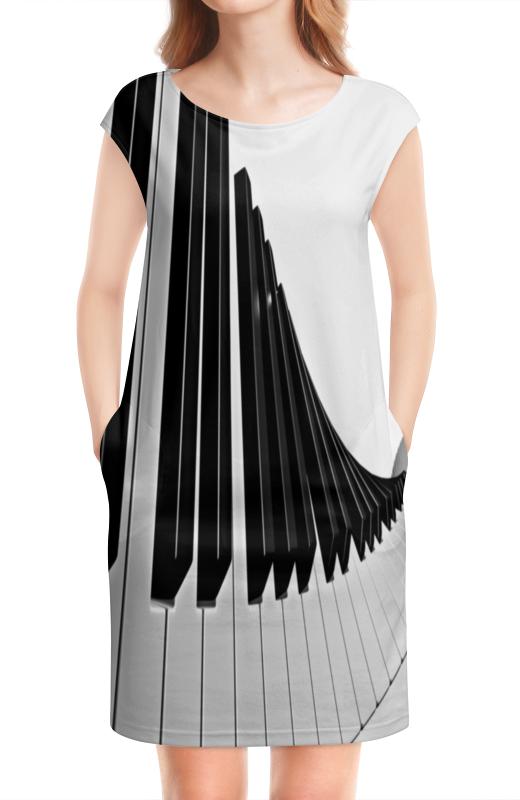 Платье без рукавов Printio Музыка