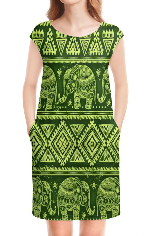 Платье без рукавов Printio Слоны