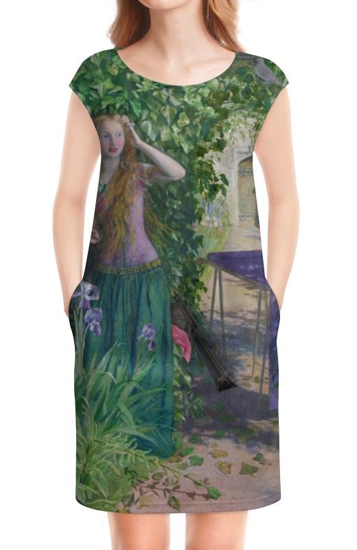 Платье без рукавов Printio Ярмарка розамунда (артур хьюз) артур конан дойл тайна клумбера