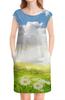 """Платье без рукавов """"Жаркое лето"""" - лето, цветы, природа, ромашки"""