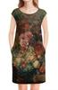 "Платье без рукавов ""Цветы (Ян ван Хёйсум)"" - картина, живопись, ян ван хёйсум"