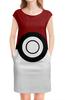 """Платье без рукавов """"Покебол. Покемоны"""" - покемон, покемоны, покебол, pokemon go, pokeball"""