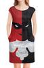 """Платье без рукавов """"Харли Квинн / Harley Quinn"""" - рисунок, комиксы, кино, харли квинн"""