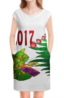 """Платье без рукавов """"Новогодний сюрприз"""" - новый год, подарок, сюрприз, новогодний, 2017"""