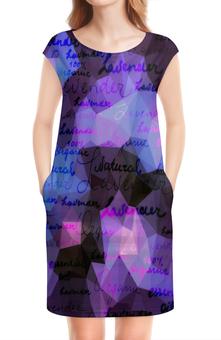 """Платье без рукавов """"Надписи"""" - надписи, буквы, слова, символы, знаки"""