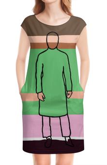 """Платье без рукавов """"Jared Leto"""" - jared leto, актер, echelon, 30stm, rock"""