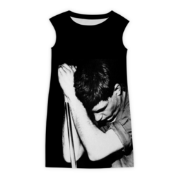 """Платье без рукавов """"Joy Division"""" - joy division, группы, ian curtis, пост-панк, иен кёртис"""