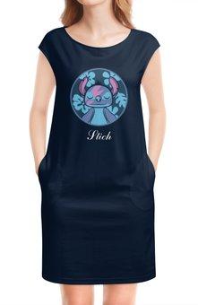 """Платье без рукавов """"Lilo & Stich (Stich)"""" - лило и стич, дисней, стич, пришелец, инопланетянин"""