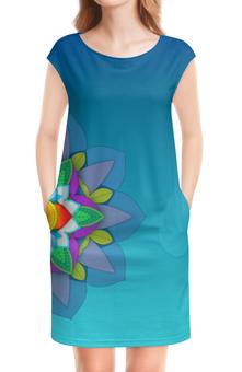 """Платье без рукавов """"Mandala II"""" - нежность, mandala"""