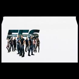 "Конверт маленький ""Евро"" Е65 ""Fast & Furious / Форсаж"" - форсаж, тачки, kinoart, вин дизель, пол уокер"