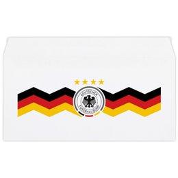 """Конверт маленький """"Евро"""" Е65 """"Борная Германии"""" - футбол, германия, сборная германии по футболу, сборная германии"""