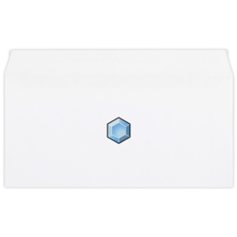 """Конверт маленький """"Евро"""" Е65 """"Crystal envelope"""" - арт, популярные, оригинально"""