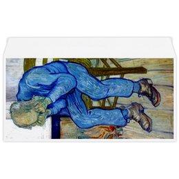 "Конверт маленький ""Евро"" Е65 ""На пороге вечности (Винсент Ван Гог)"" - картина, ван гог"