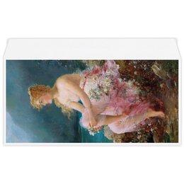 """Конверт маленький """"Евро"""" Е65 """"Водяные лилии (картина Ханса Зацка)"""" - цветы, картина, живопись, зацка"""