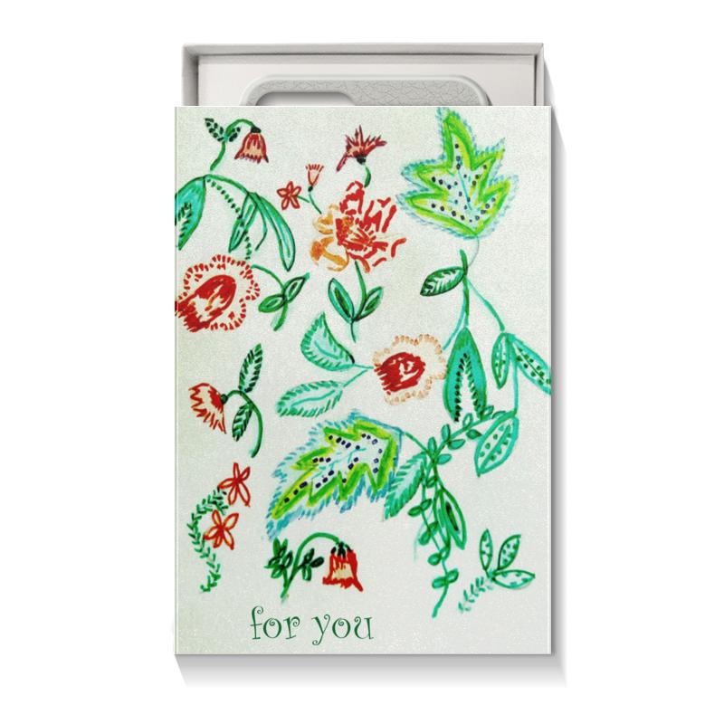 Коробка для чехлов Printio Дикие цветы коробка для чехлов printio подарочная летние цветы