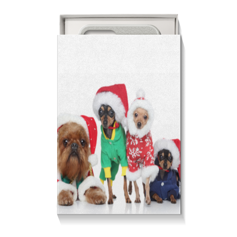 Коробка для чехлов Printio Год собаки коробка для чехлов printio подарок