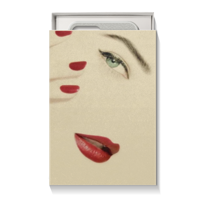 Коробка для чехлов Printio Для телефона девушке подарочная коробка малая пенал printio лилии