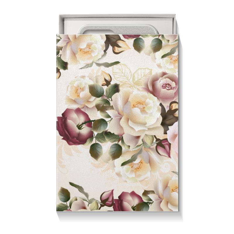 Коробка для чехлов Printio Розовые розы шляпная коробка grand розы freedom blvck
