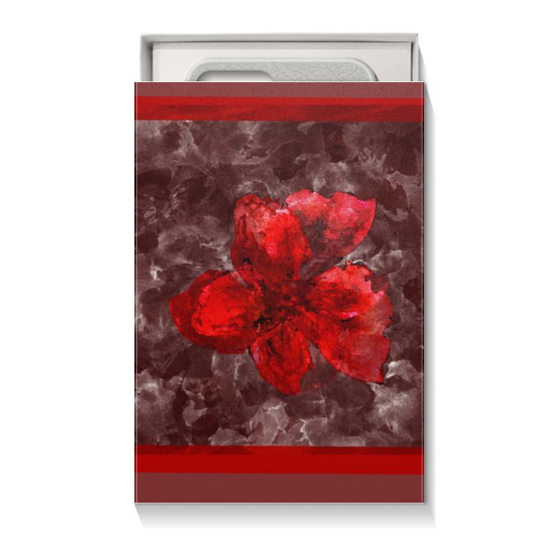 Коробка для чехлов Printio Аленький цветочек цены