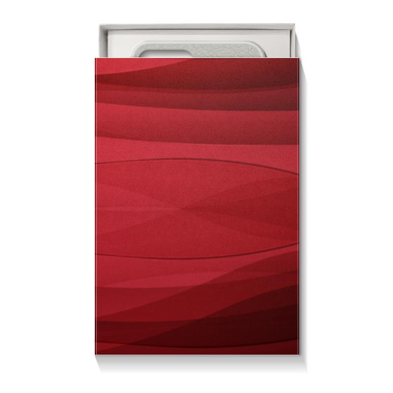 Коробка для чехлов Printio Красная абстракция коробка для чехлов printio подарок