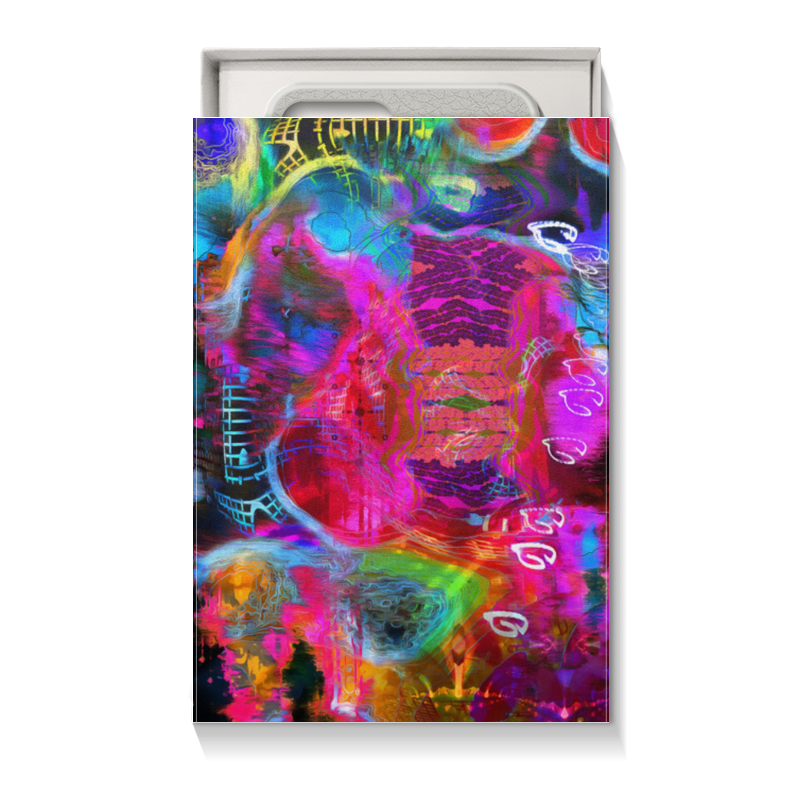Коробка для чехлов Printio Abstract raster 372 стоимость
