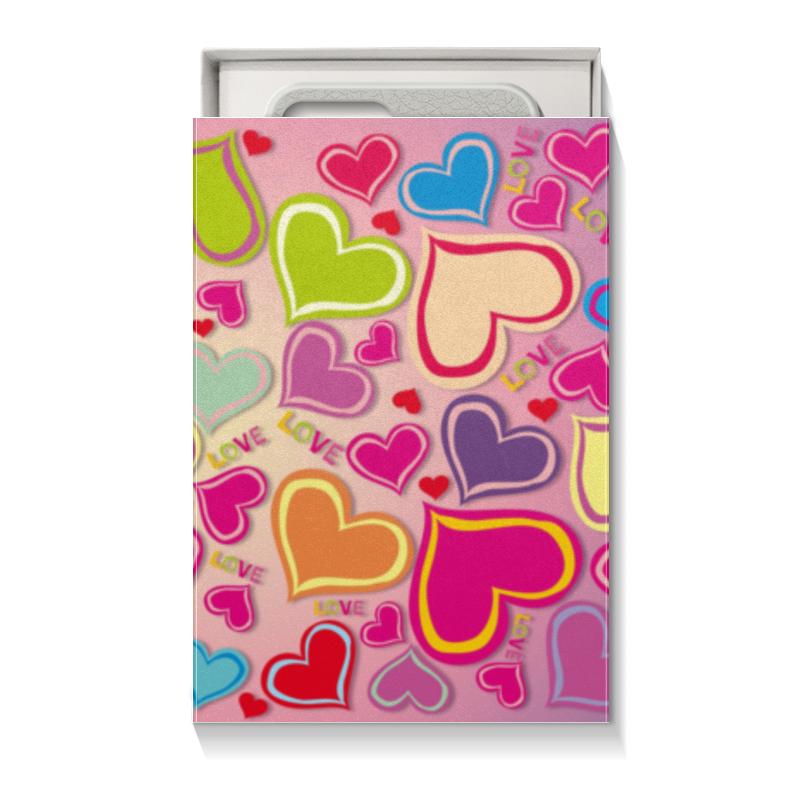 Коробка для чехлов Printio Любовь подарочная коробка куб printio любовь