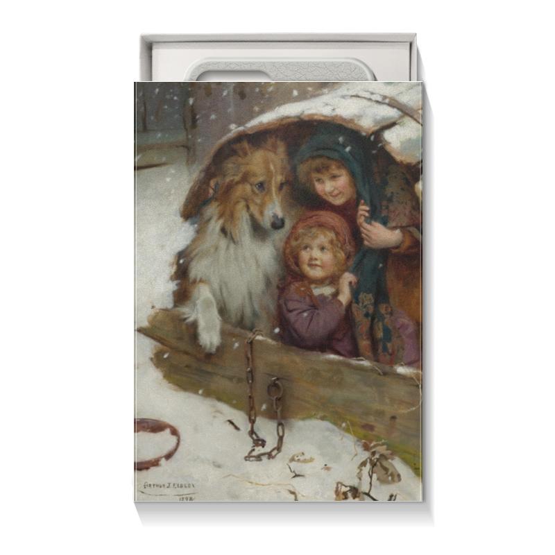Коробка для чехлов Printio Картина артура элсли подарочная коробка большая пенал printio картина артура элсли