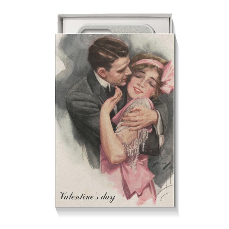 Коробка для чехлов Printio День святого валентина подарочная коробка куб printio для кружки подружке