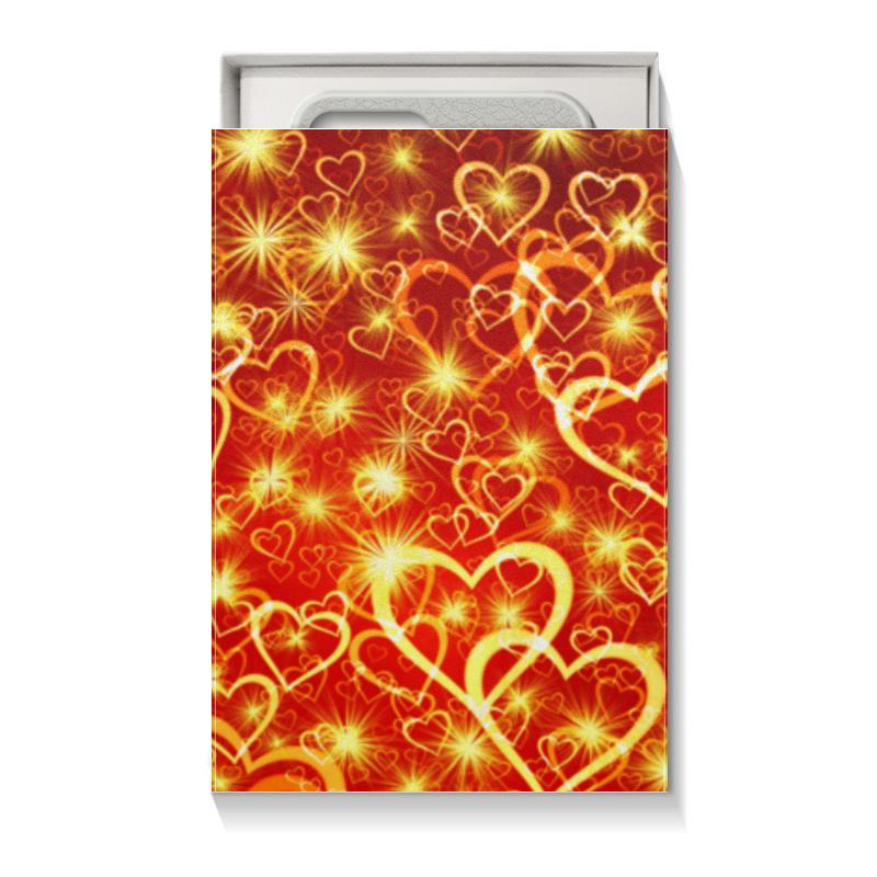 Коробка для чехлов Printio Горячие сердца коробка для чехлов printio сердце