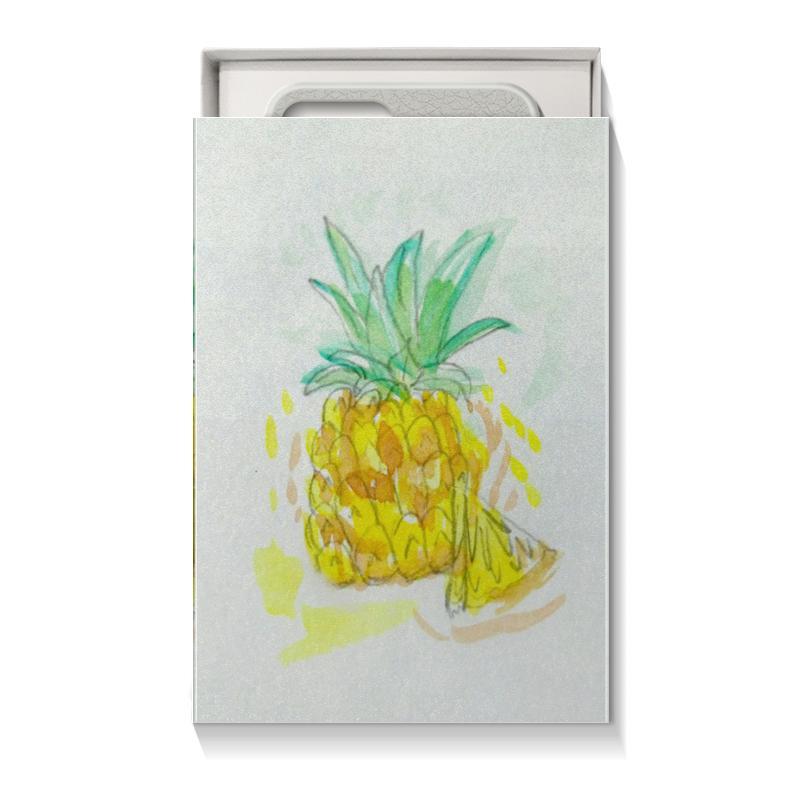 Коробка для чехлов Printio Ананас пюре gerber пюре спелое манго 90г