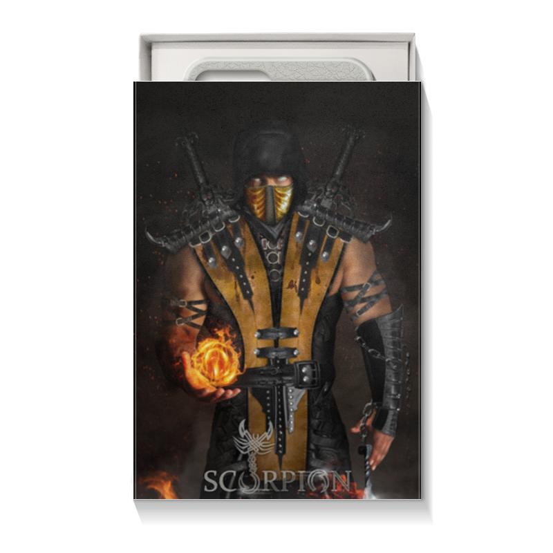 Коробка для чехлов Printio Mortal kombat (scorpion) коробка для чехлов printio подарок