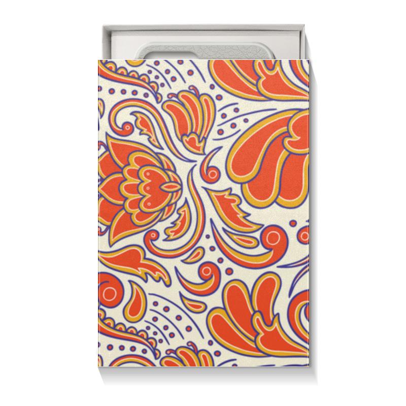 Коробка для чехлов Printio Цветочный узор коробка для футболок printio цветочный узор